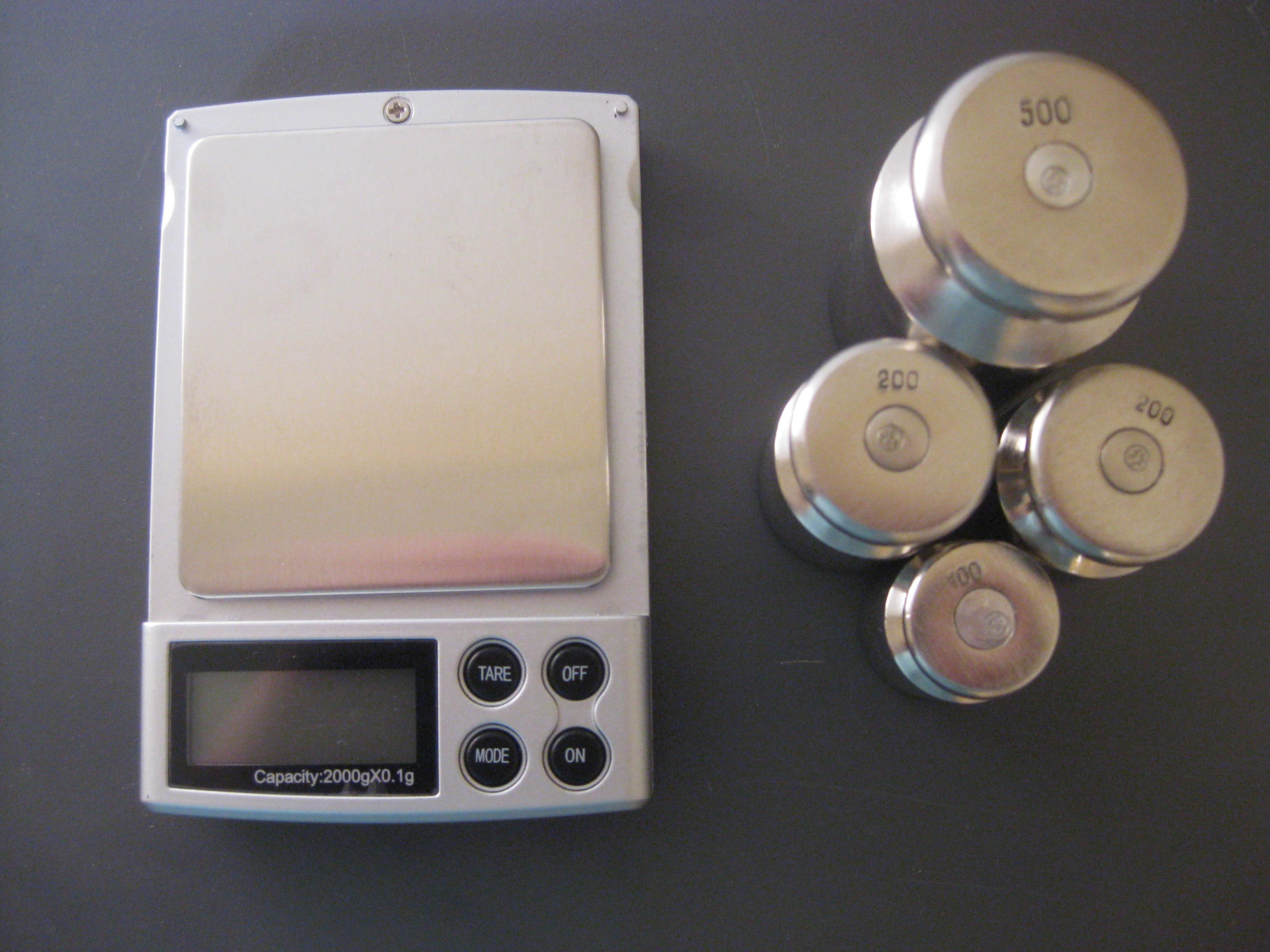 Настройка весов M2000,(фото 1)