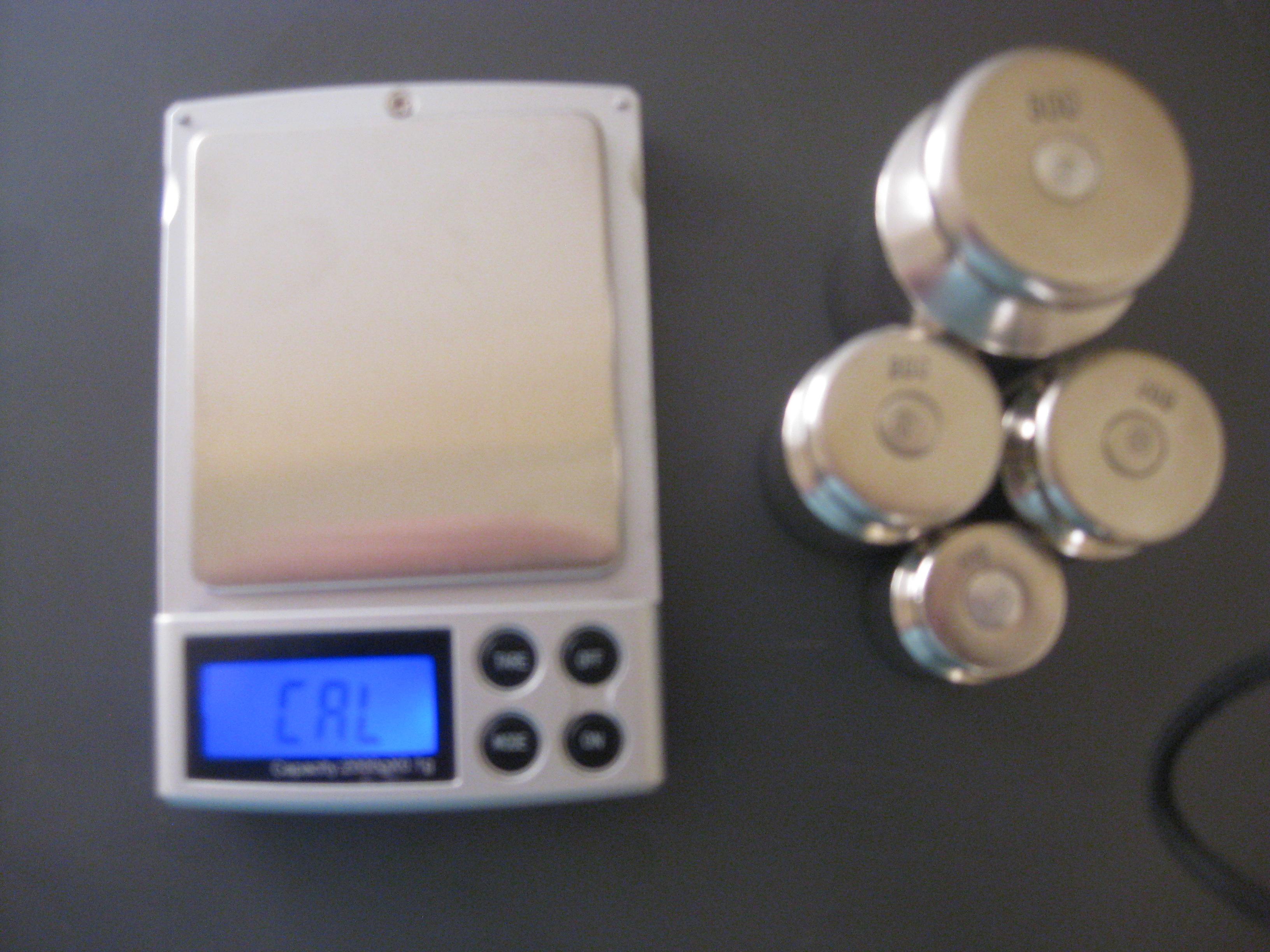 Настройка весов M2000,(фото 3)