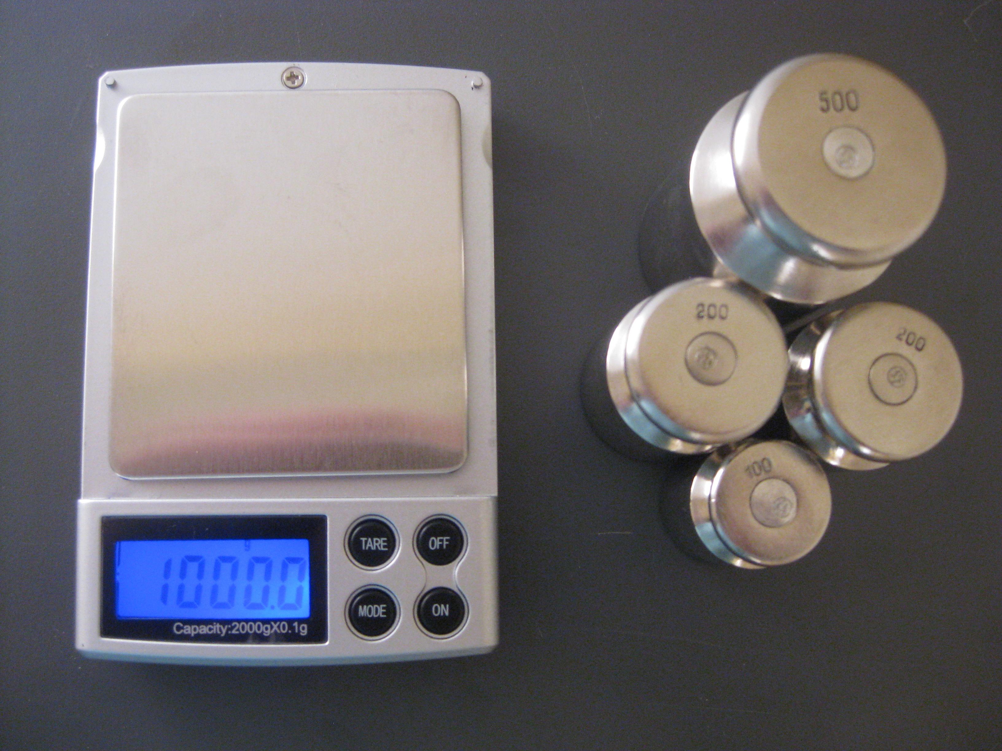 Настройка весов M2000,(фото 4)
