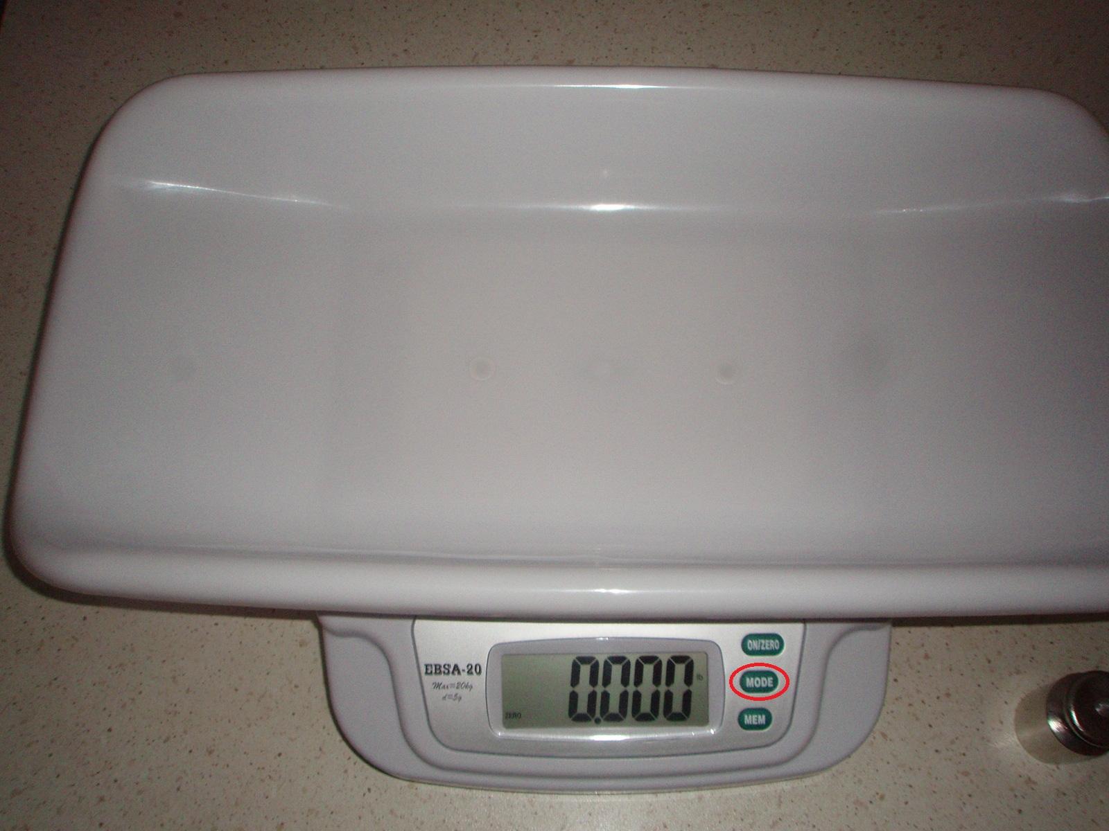 Детские весы EBSA-20,(фото 6)